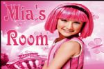 Personalised Lazytown Stephanie Door Plaque